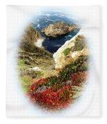 Big Sur Fleece Blanket