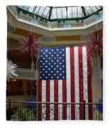 Big Usa Flag 1 Fleece Blanket