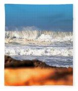 Big Wave Fleece Blanket