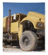 Big Wheels Not Rollin Water Truck Fleece Blanket