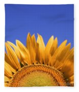 Big Yellow Fleece Blanket