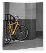 Bike Fleece Blanket