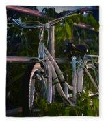Bike Noir Fleece Blanket