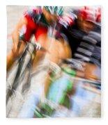 Bike Race I Fleece Blanket