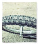 Bike Tyre Fleece Blanket