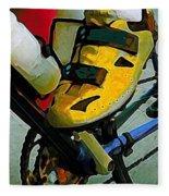 Biker Boy Foot Fleece Blanket