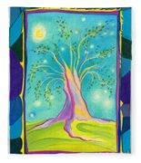 Bilabo Tree  Fleece Blanket