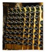 Biltmore Estate Wine Cellar -stored Wine Bottles Fleece Blanket