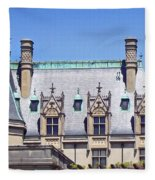 Biltmore House Roof Fleece Blanket