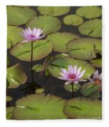 Biltmore Water Lillies Fleece Blanket