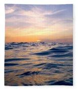 Bimini Sunset Fleece Blanket