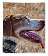 Bird Dog - Profile Fleece Blanket