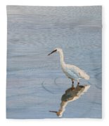 Bird In A Pond Fleece Blanket