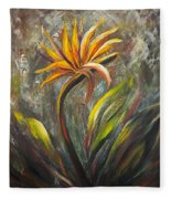 Bird Of Paradise 63 Fleece Blanket