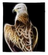 Bird Of Prey Fleece Blanket
