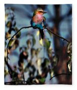 Bird On A Limb Fleece Blanket