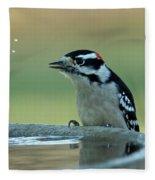 Birdbath Funtime Fleece Blanket