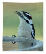 Birdbath Fleece Blanket