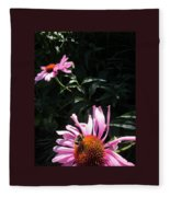 Birds And The Bee Fleece Blanket
