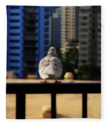 Birds Eye View Fleece Blanket
