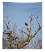 Birds Of Prey II Fleece Blanket