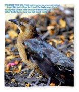 Birds Of The Air Fleece Blanket