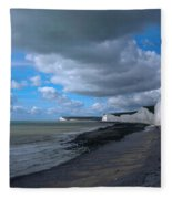 Birling Gap Beach Fleece Blanket