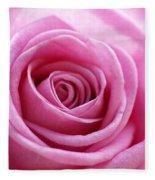 Birthday Pink Fleece Blanket