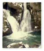 Bish Bash Falls  Fleece Blanket