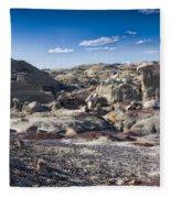 Bisti Badlands 4 Fleece Blanket