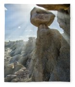 Bisti Badlands 6 Fleece Blanket
