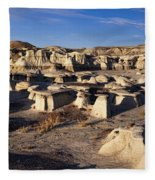 Bisti Badlands Pano Fleece Blanket
