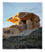 Bisti Land Form 2 Fleece Blanket