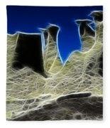 Magical Earth 3 Fleece Blanket