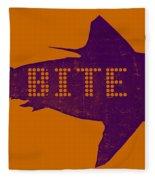 Bite Me Fleece Blanket