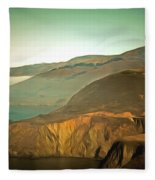 Bixby Bridge Digital Fleece Blanket