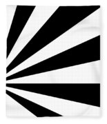 Black And White Art - 142 Fleece Blanket