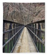 Black Bridge Fleece Blanket