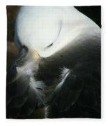Black Browed Albatross Fleece Blanket