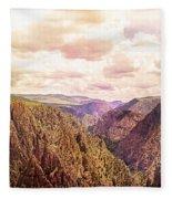 Black Canyon Colorado Fleece Blanket