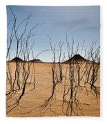 Black Desert Fleece Blanket