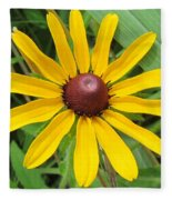 Black-eyed Susan Fleece Blanket
