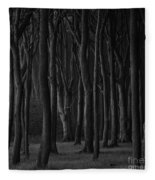 Black Forest Fleece Blanket