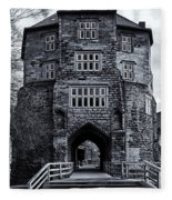 Black Gate Fleece Blanket