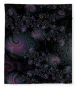 Black Light Reveal Fleece Blanket
