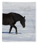 Black Magic Fleece Blanket