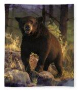 Black Max Fleece Blanket