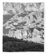 Black Mountains Of Arizona Fleece Blanket