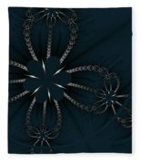 Black Pearl Fleece Blanket