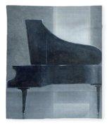 Black Piano 2004 Fleece Blanket